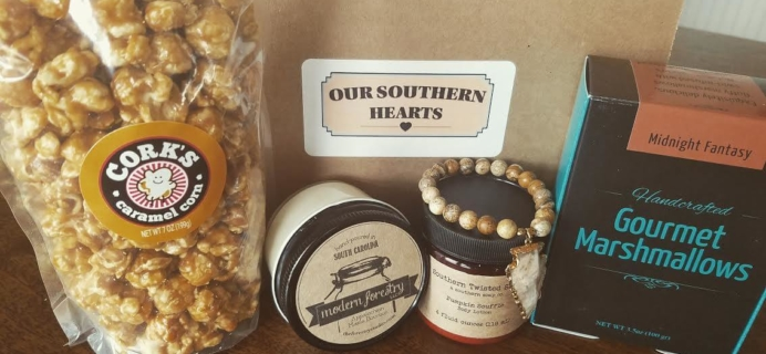 Our Southern Hearts Cyber Monday Subscription Box Deals: Dollars off savings on all Subscriptions!