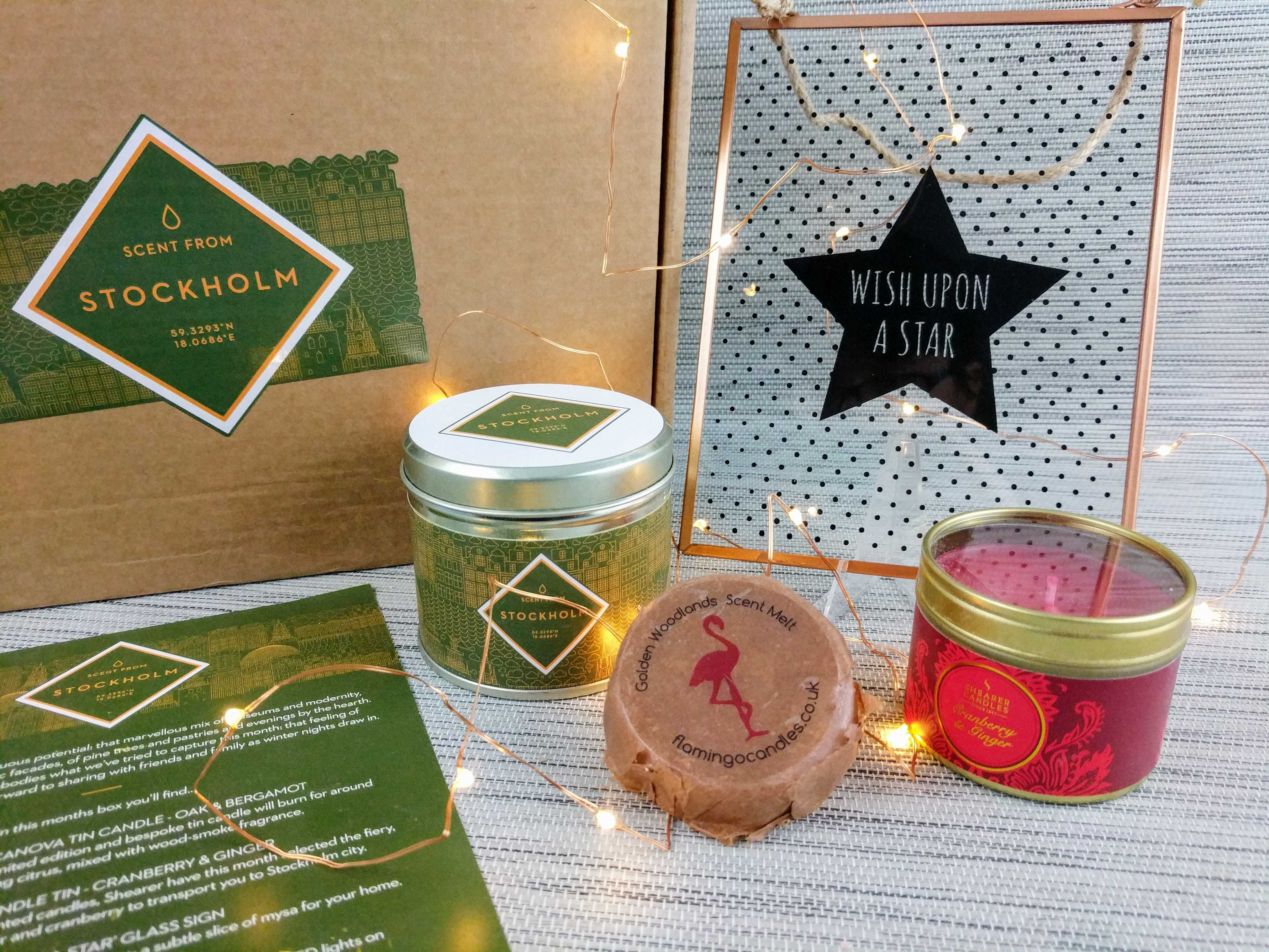 Scent From Subscription Box Review – November 2016