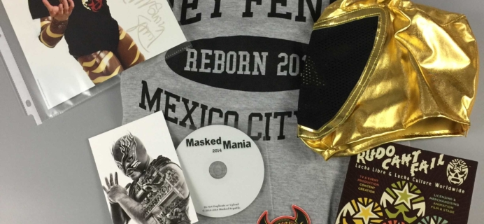 Lucha Loot Subscription Box Review & Coupon – November 2016