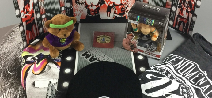 WWE Slam Crate December 2016 Review + Coupons