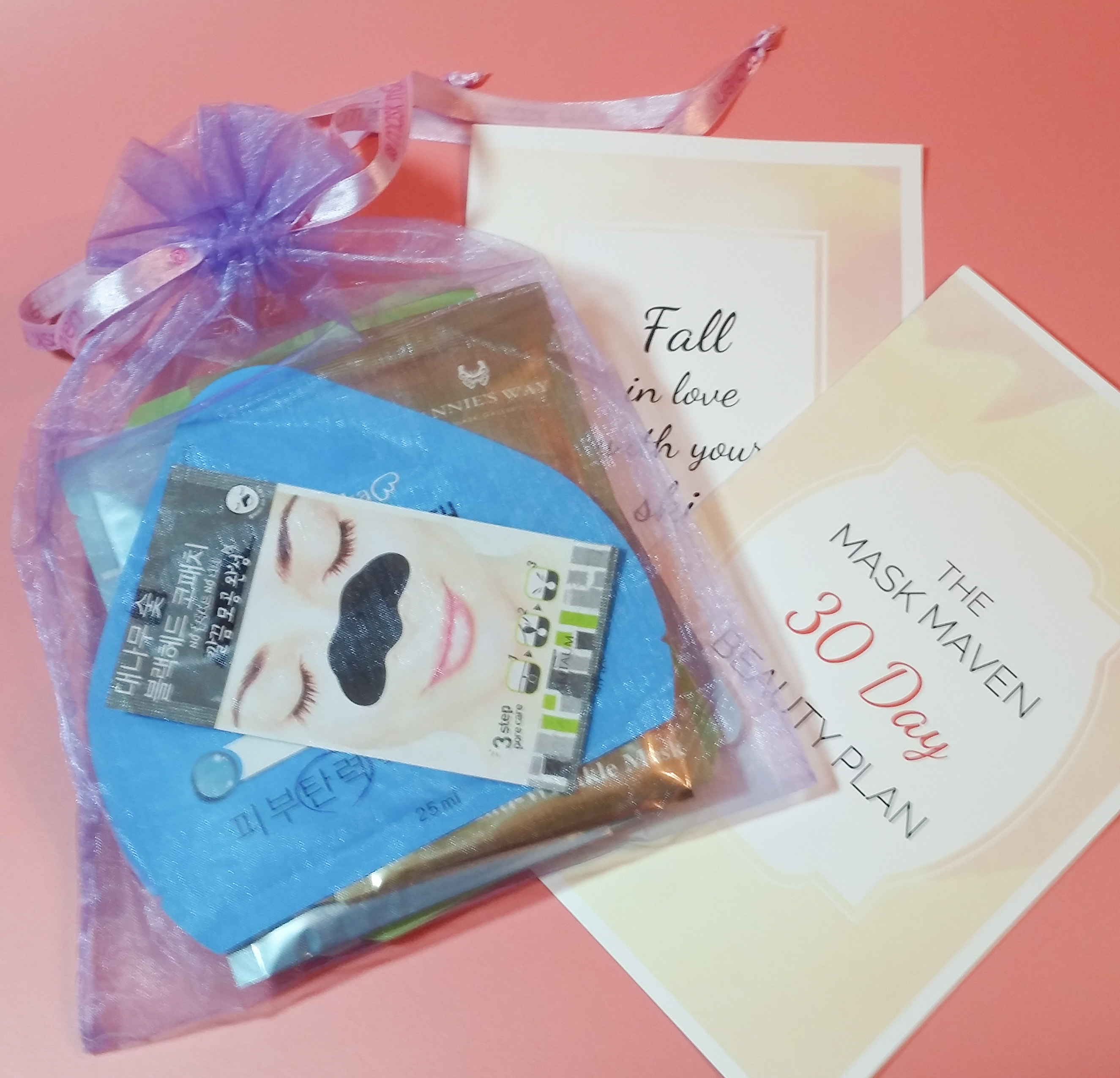 Beauteque Mask Maven November 2016 Subscription Box Review + Coupon