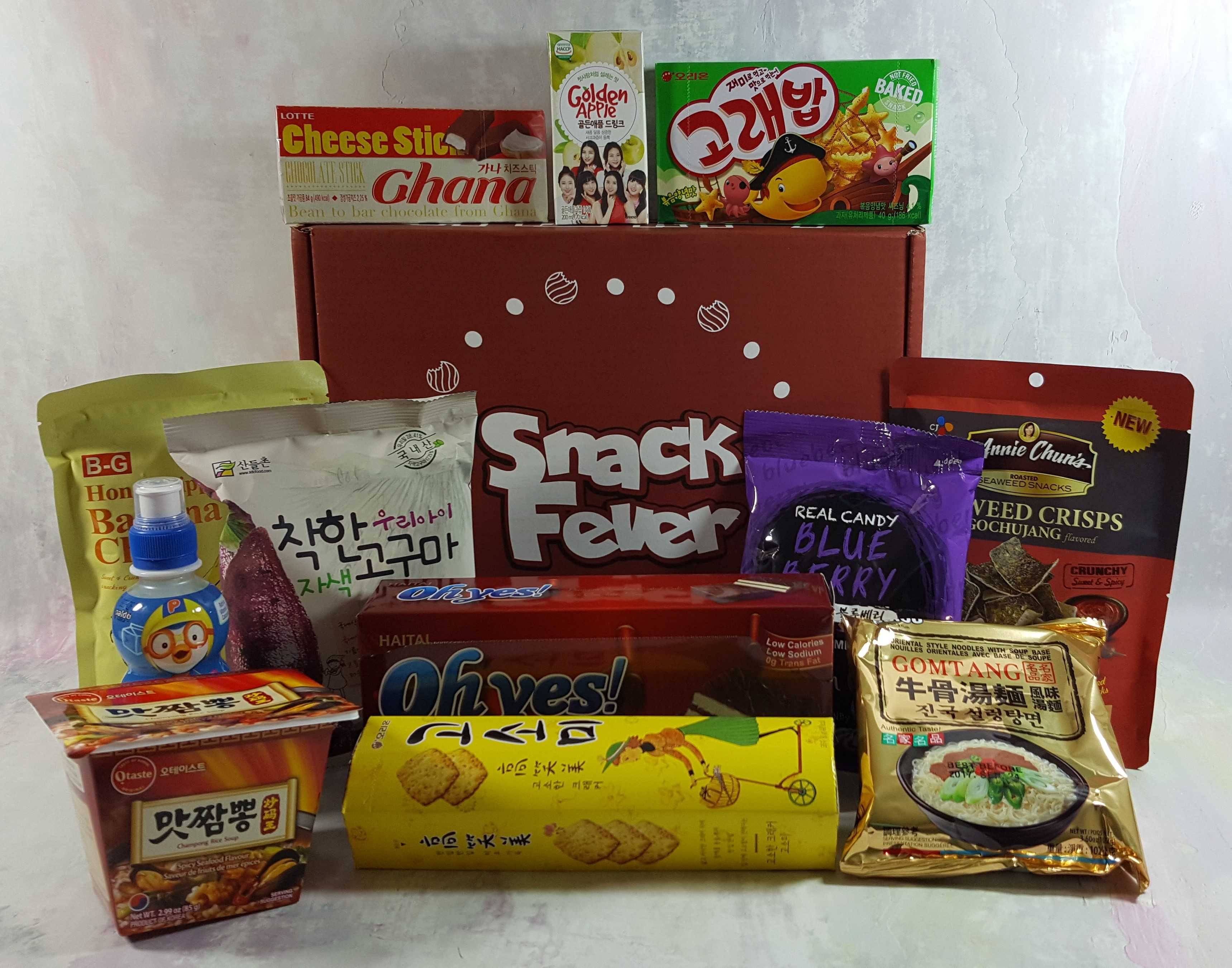 November 2016 Snack Fever Subscription Box Review + Coupon – Deluxe Box!