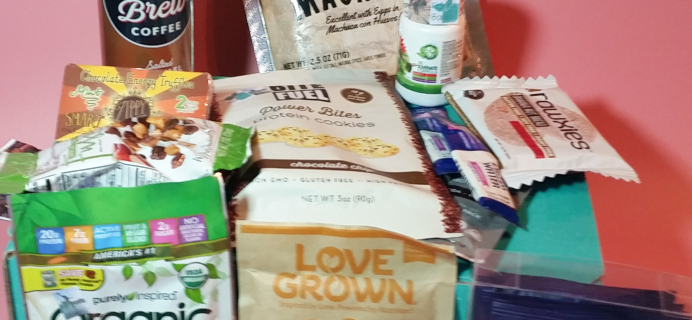 FitSnack January 2017 Subscription Box Review & Coupon