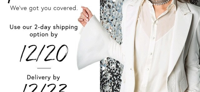 Rush Shipping! Get Rachel Zoe Box of Style for Holiday Delivery + $20 Off Coupon!