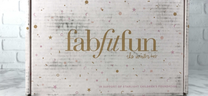 FabFitFun Winter 2016 Subscription Box Review + $10 Coupon