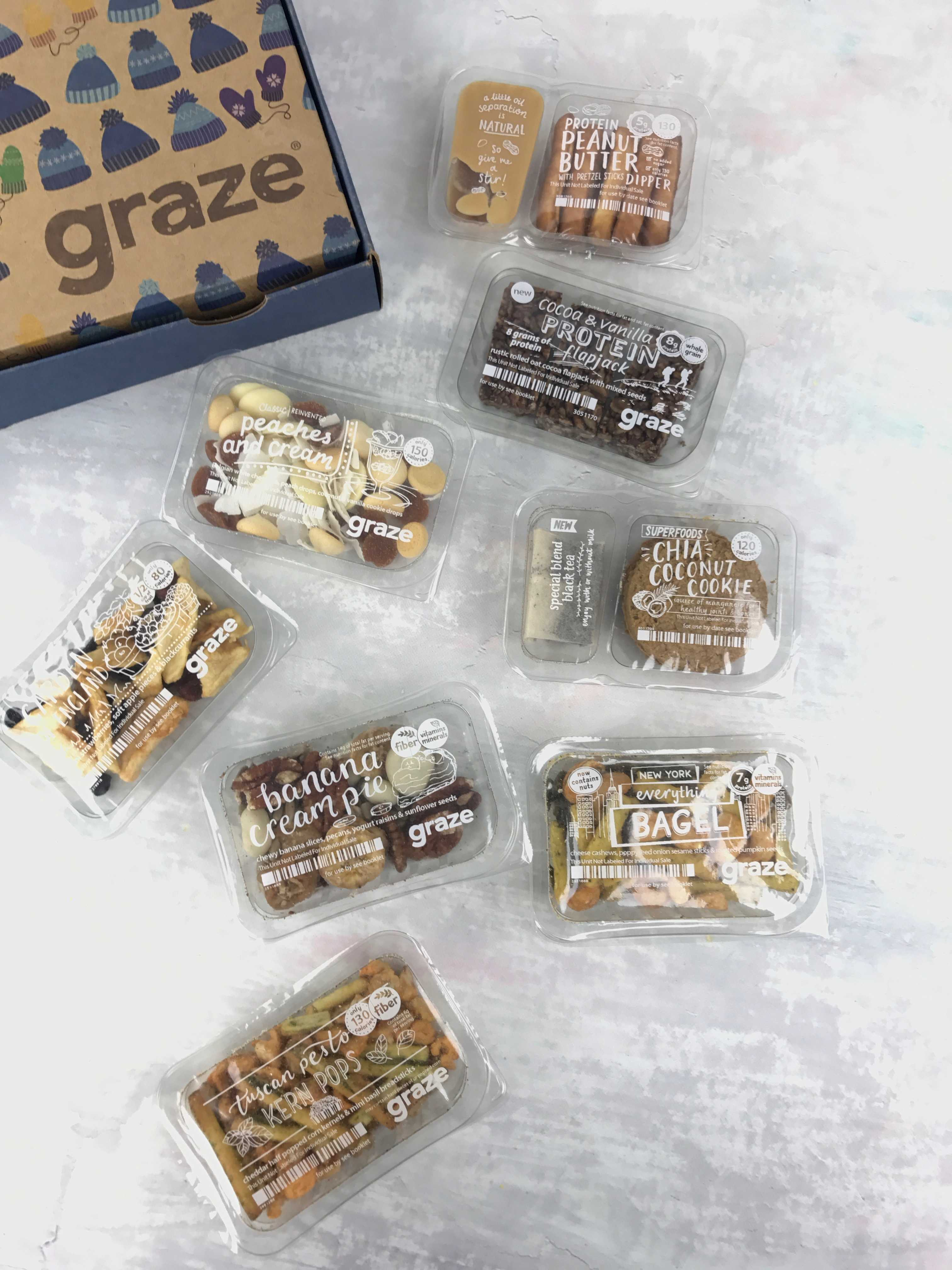 Graze Variety Box Review & Free Box Coupon! December 2016