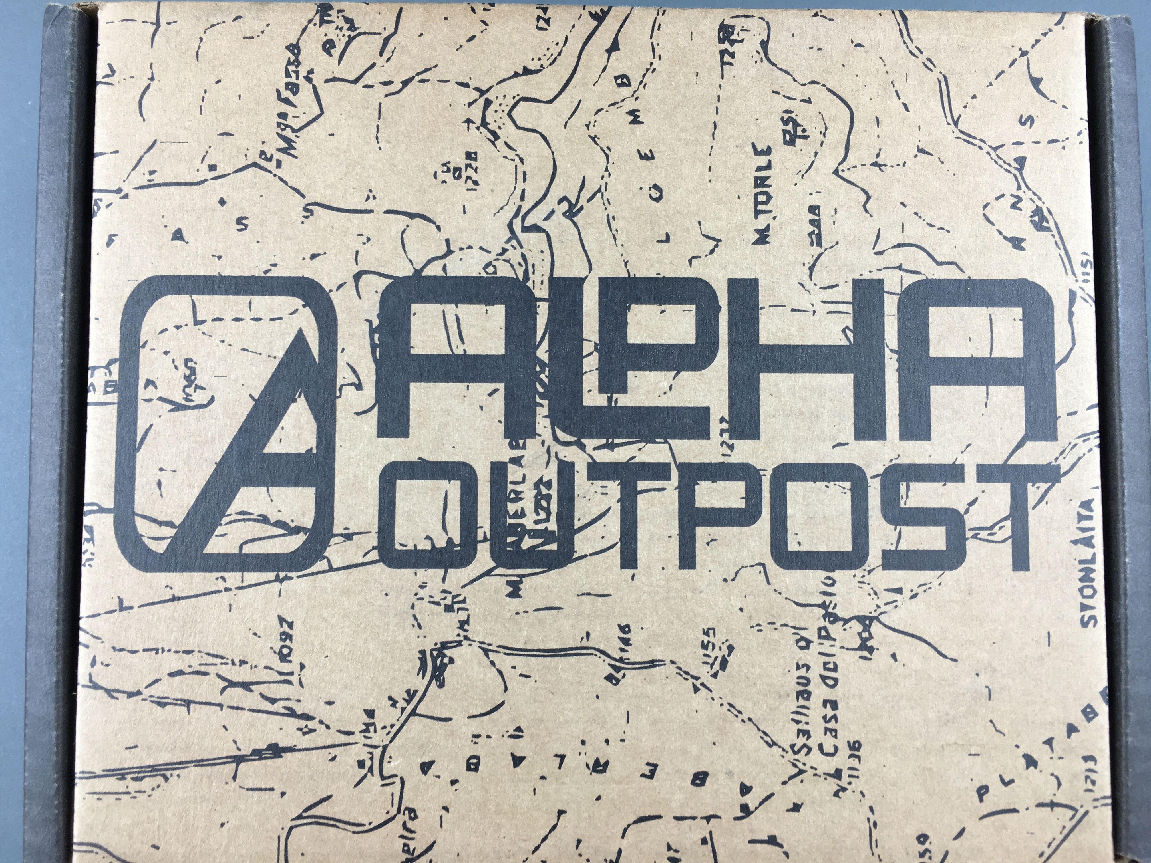 Alpha Outpost January 2017 Subscription Box Review