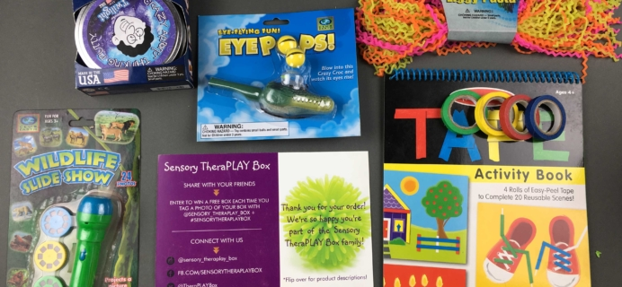 Sensory TheraPLAY Box Subscription Box Review + Coupon – October 2016