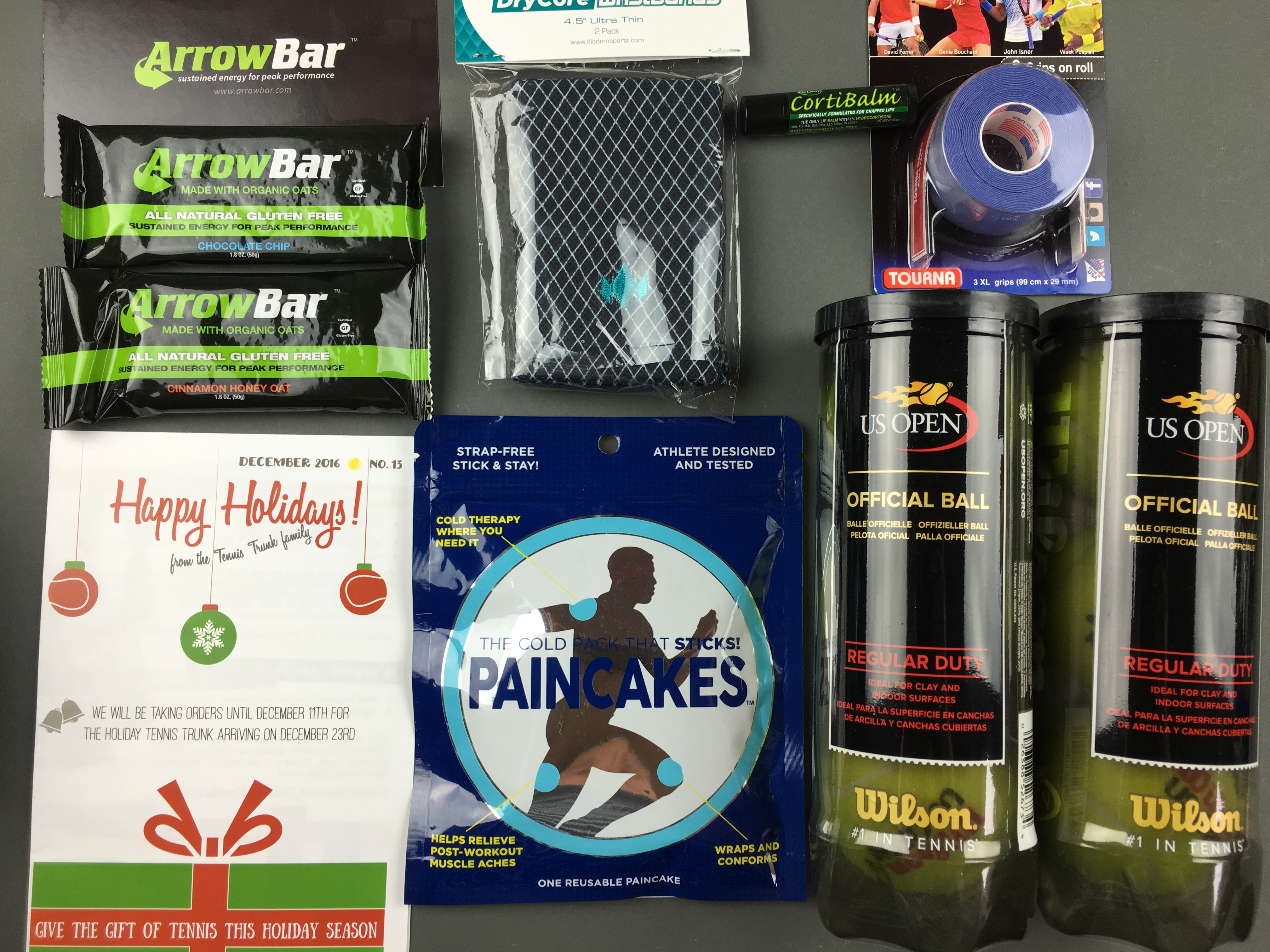 Tennis Trunk December 2016 Subscription Box Review & Coupon