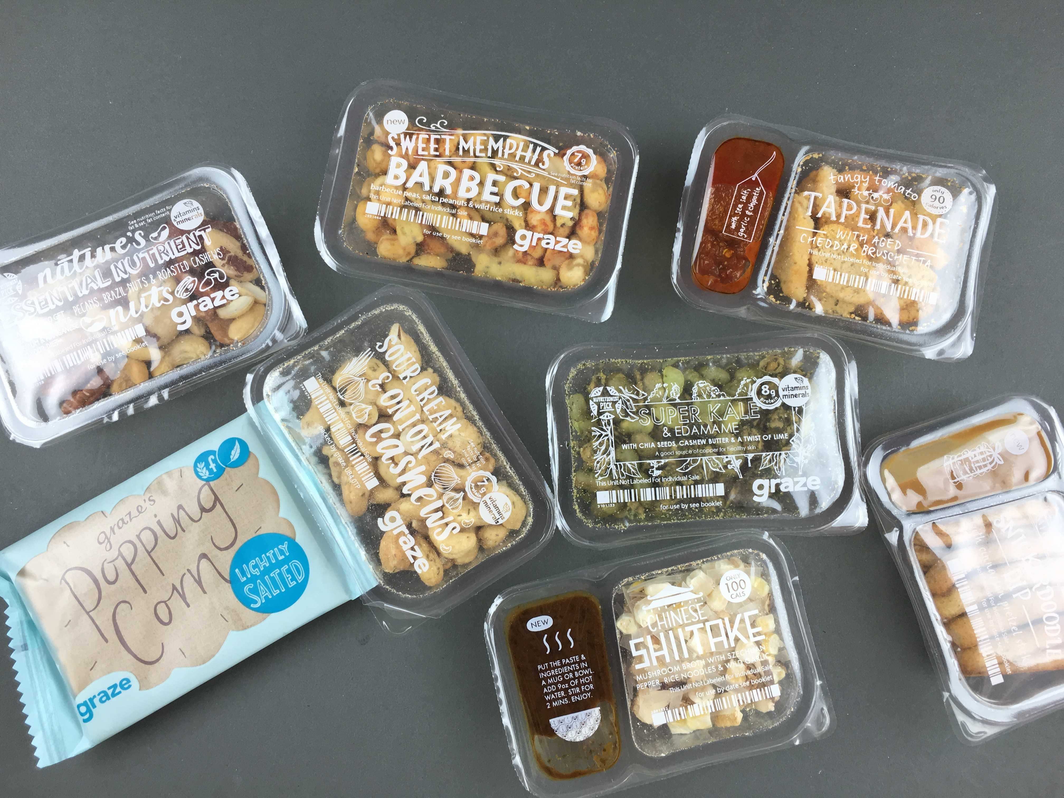 Graze Sugar Count Review & Free Box Coupon – January 2016