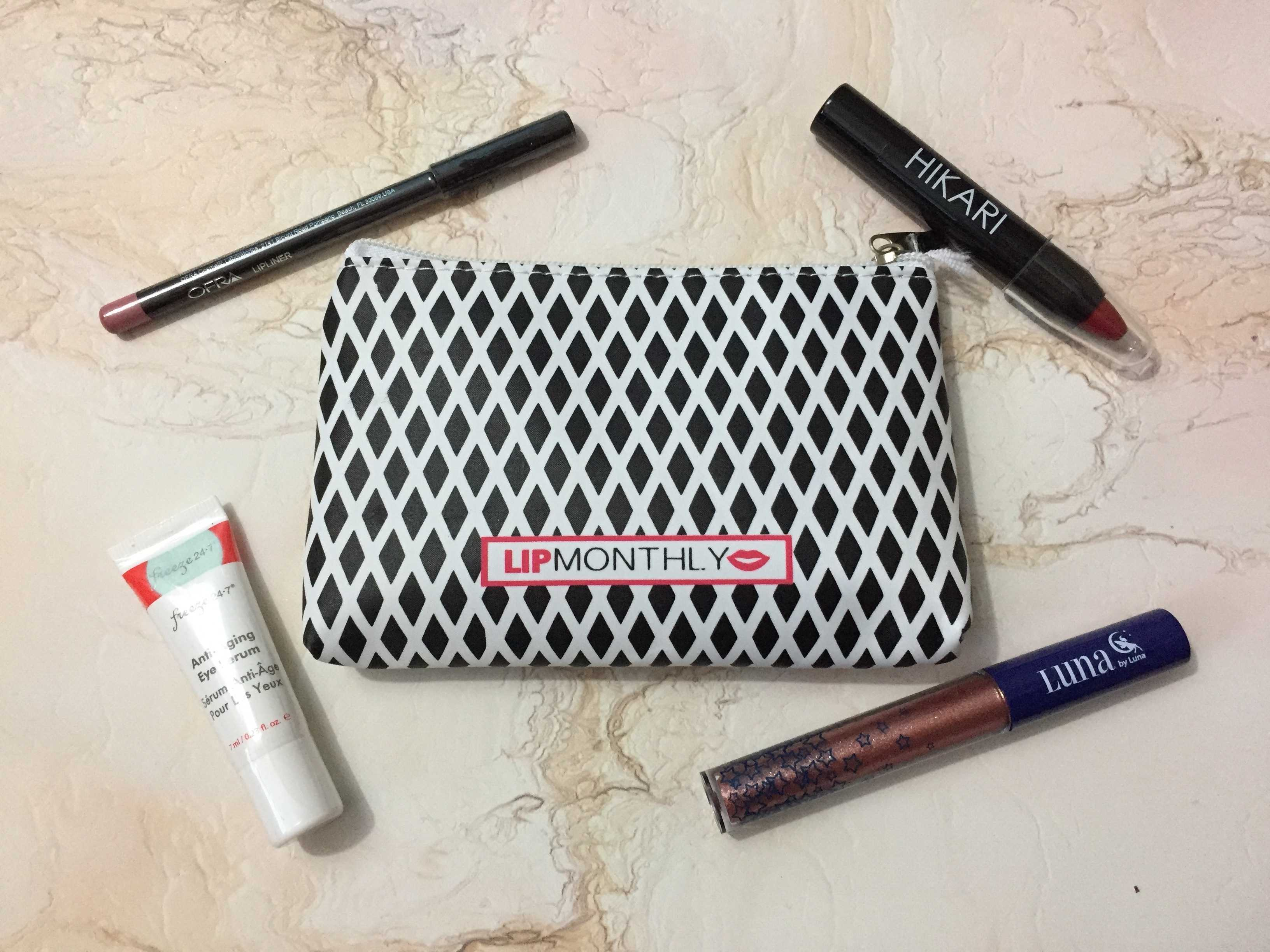Lip Monthly November 2016 Subscription Box Review & Coupon