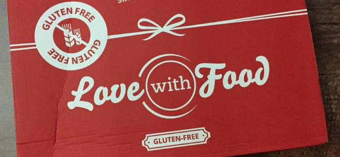 Love With Food Gluten-Free December 2016 Subscription Box Review + Coupon