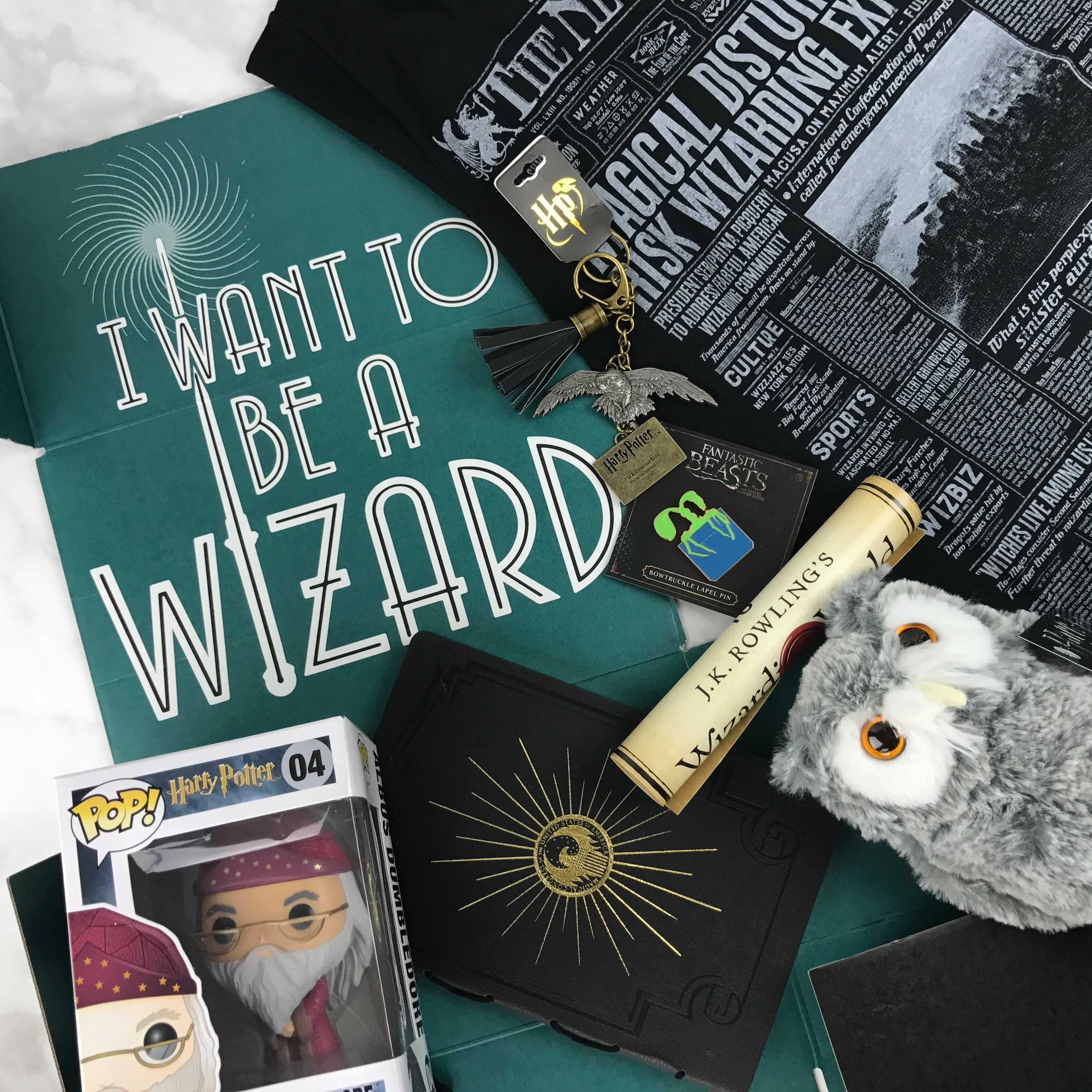 Wizarding World Crate Review + Coupon – November-December 2016