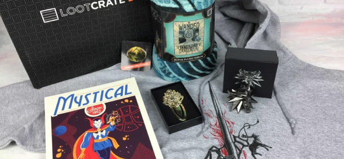 Loot Crate DX November 2016 Subscription Box Review & Coupon