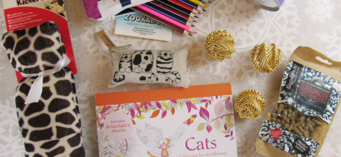 My Purrfect Gift Box November 2016 Subscription Review + Coupon