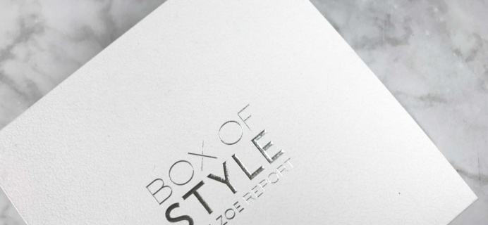 Rachel Zoe Box of Style Winter 2016 Subscription Box Review + Coupon