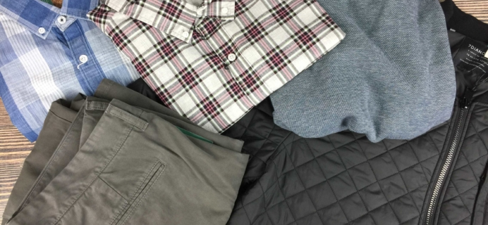 Stitch Fix Men December 2016 Review