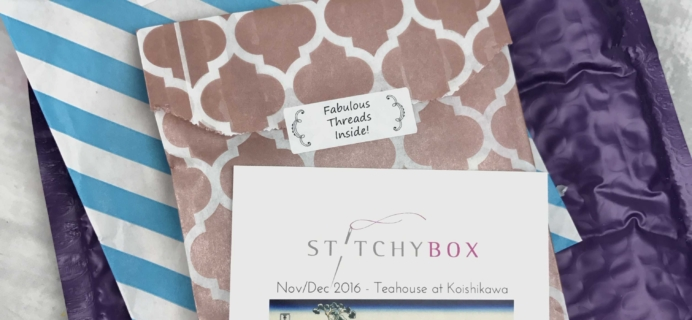 Stitchy Box November-December 2016 Subscription Box Review & Coupon