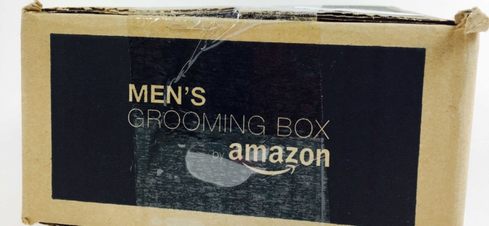 Amazon Men's Grooming Box Review