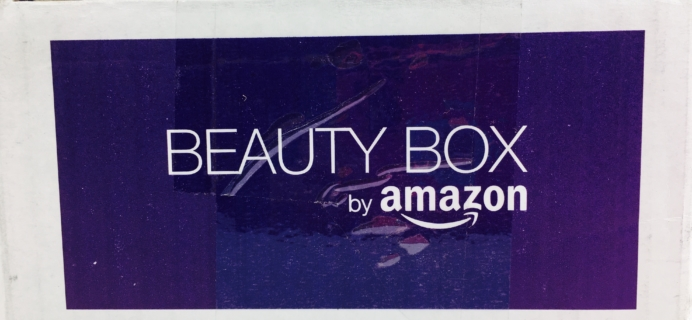 Amazon Beauty Box November 2016 Review