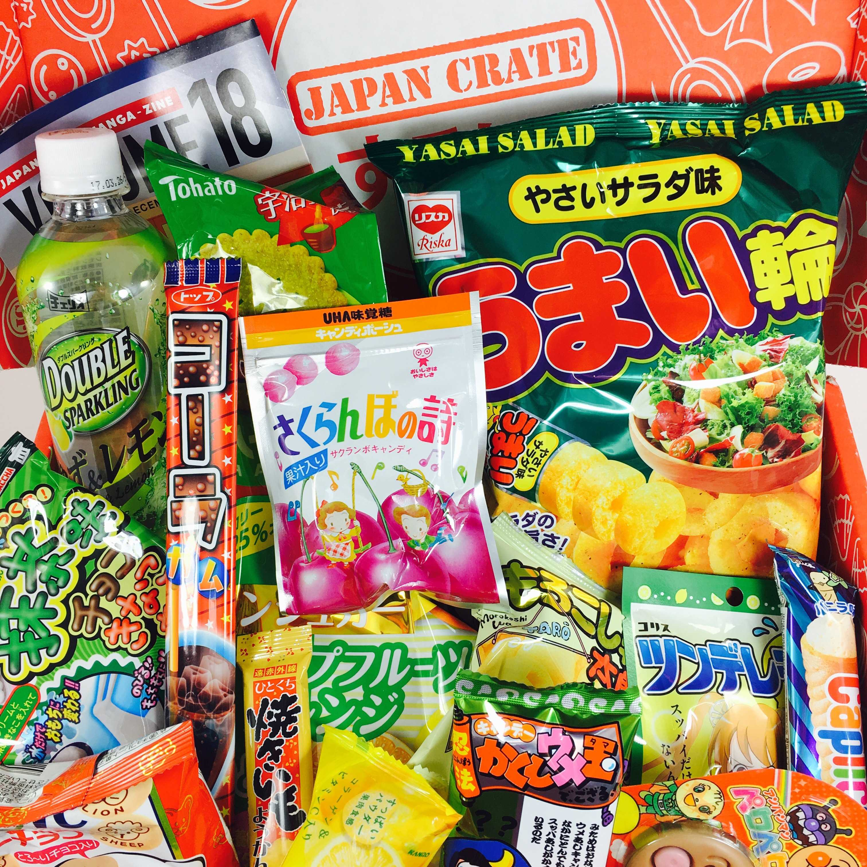 Japan Crate December 2016 Subscription Box Review + Coupon
