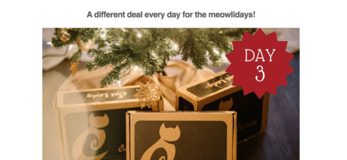 Cat Lady Box Catmas Deal: 15% Off All Gift Subscriptions!
