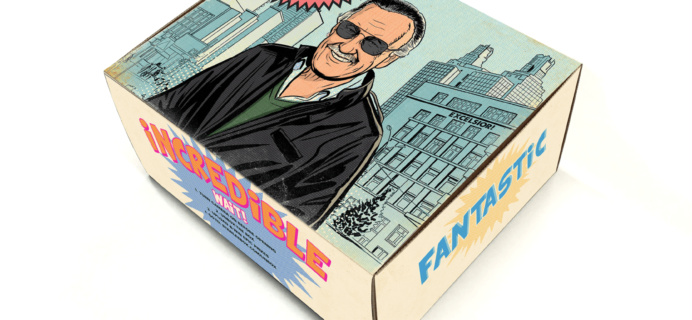 The Stan Lee Box January 2018 Theme Spoilers + Coupon!