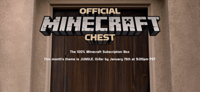 Mine Chest January 2017 Theme Spoilers + Now Part of Loot Crate!