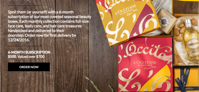L'Occitane Beauty Subscription Box – Only Open For THREE Days + Full Spoilers!