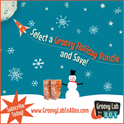 Groovy Lab In A Box Holiday Bundles + Coupon!