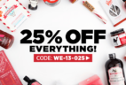 Mouth.com Last Minute Sale: 25% Off Everything!