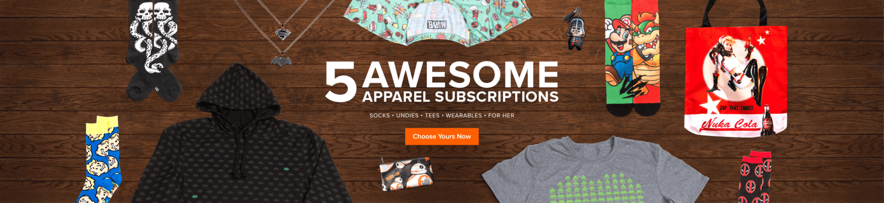 40% Off All Loot Wear Subscriptions Coupon!