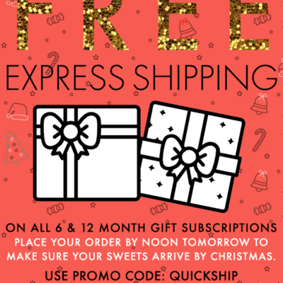 Treatsie Coupon: FREE Express Holiday Shipping!