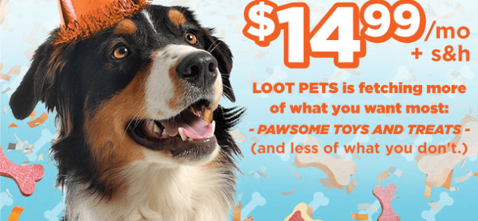 Loot Pets Pricing Change Information – Now $14.99 + S&H!