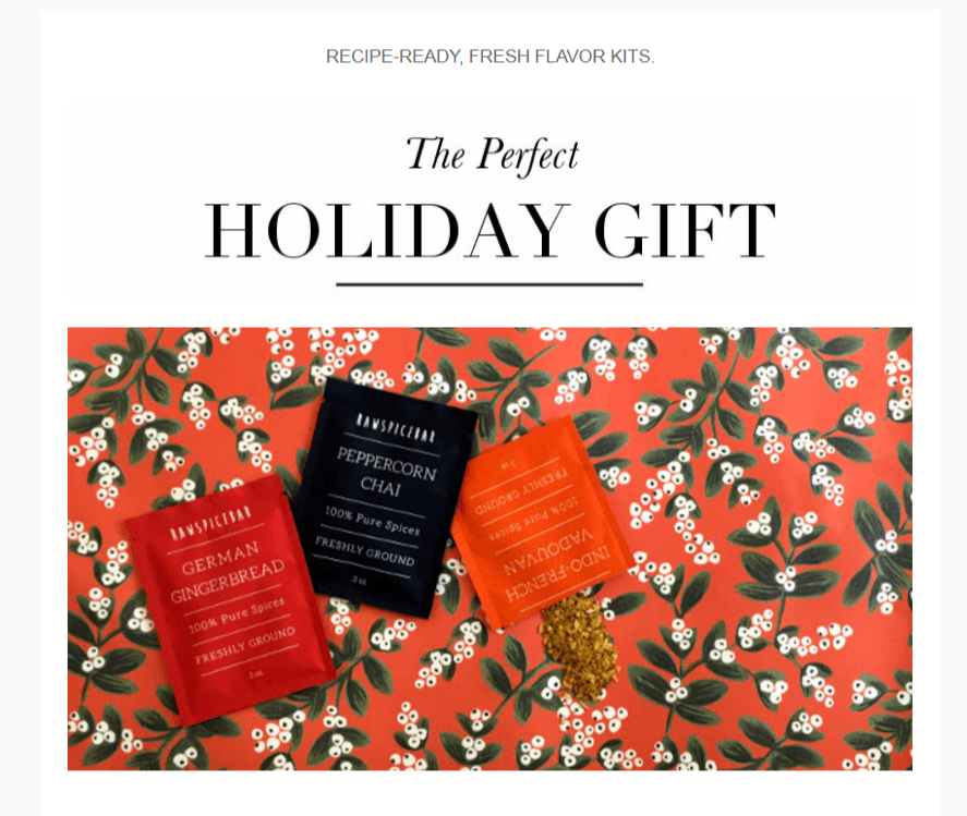 RawSpiceBar Last Minute Holiday Deal: Save $5 on Any Subscription!