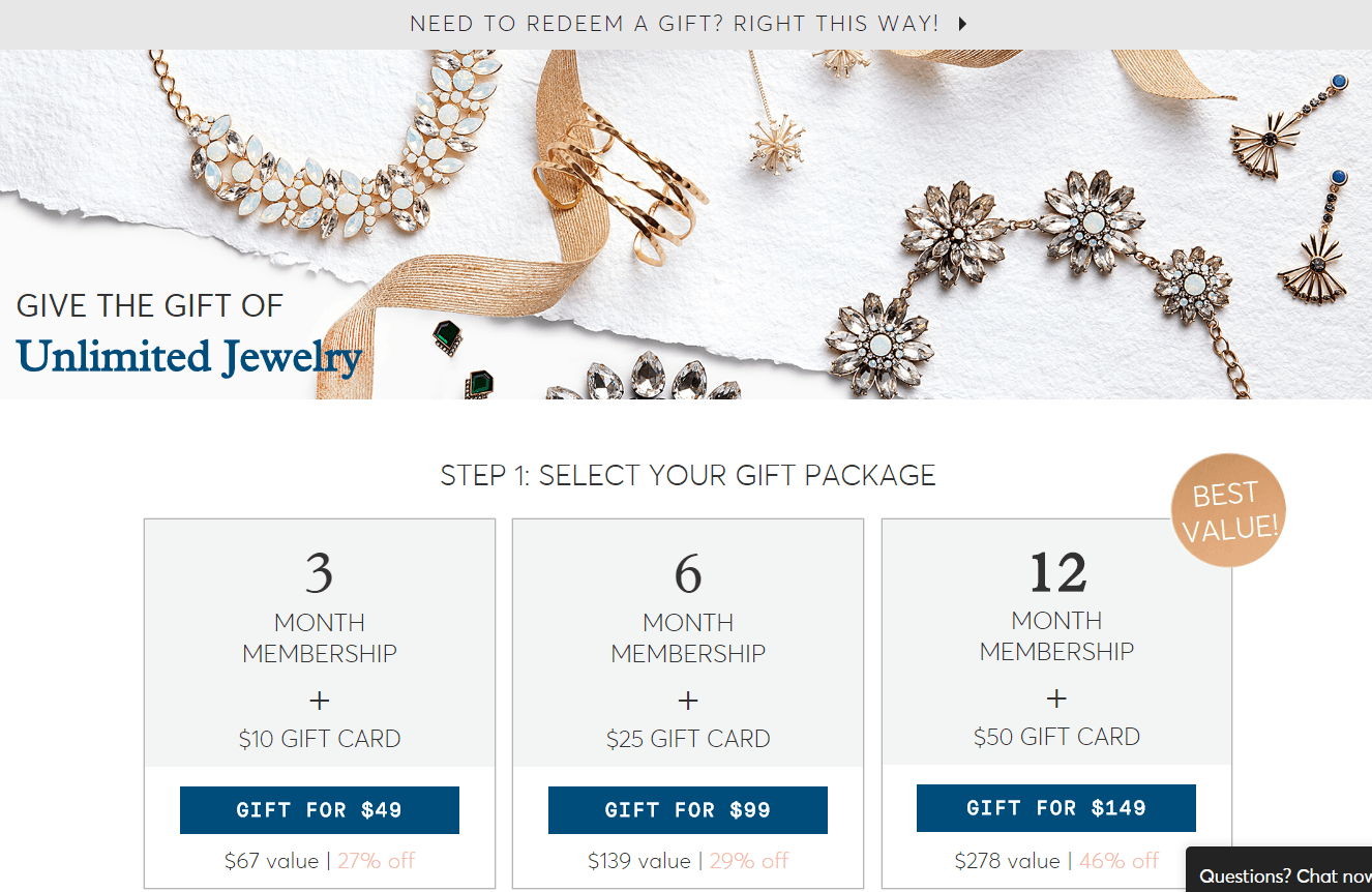RocksBox Gift Subscription Deals: Give Sparkle with Gift Membership + Gift Card Packages!