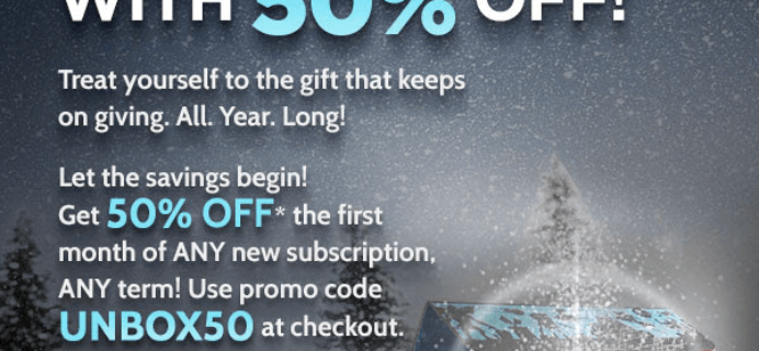 LAST DAY: Nerd Block 50% Off First Month ANY BLOCK!