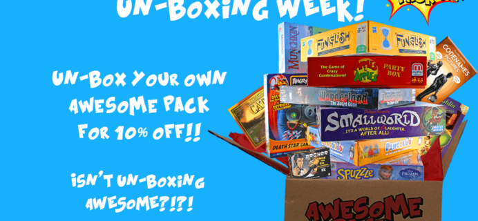 New Awesome Pack Coupon: Save 10% On First Month!