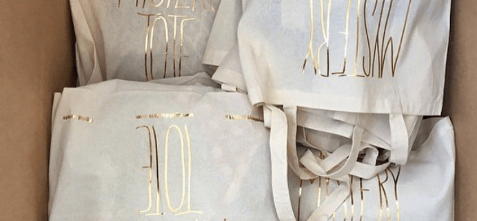 Golden Tote 2016 Mystery Tote Launches January 2!
