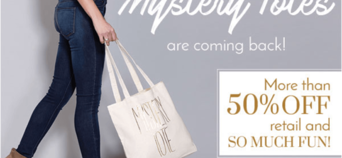 Golden Tote 2016 Mystery Totes Launch Noon Eastern!