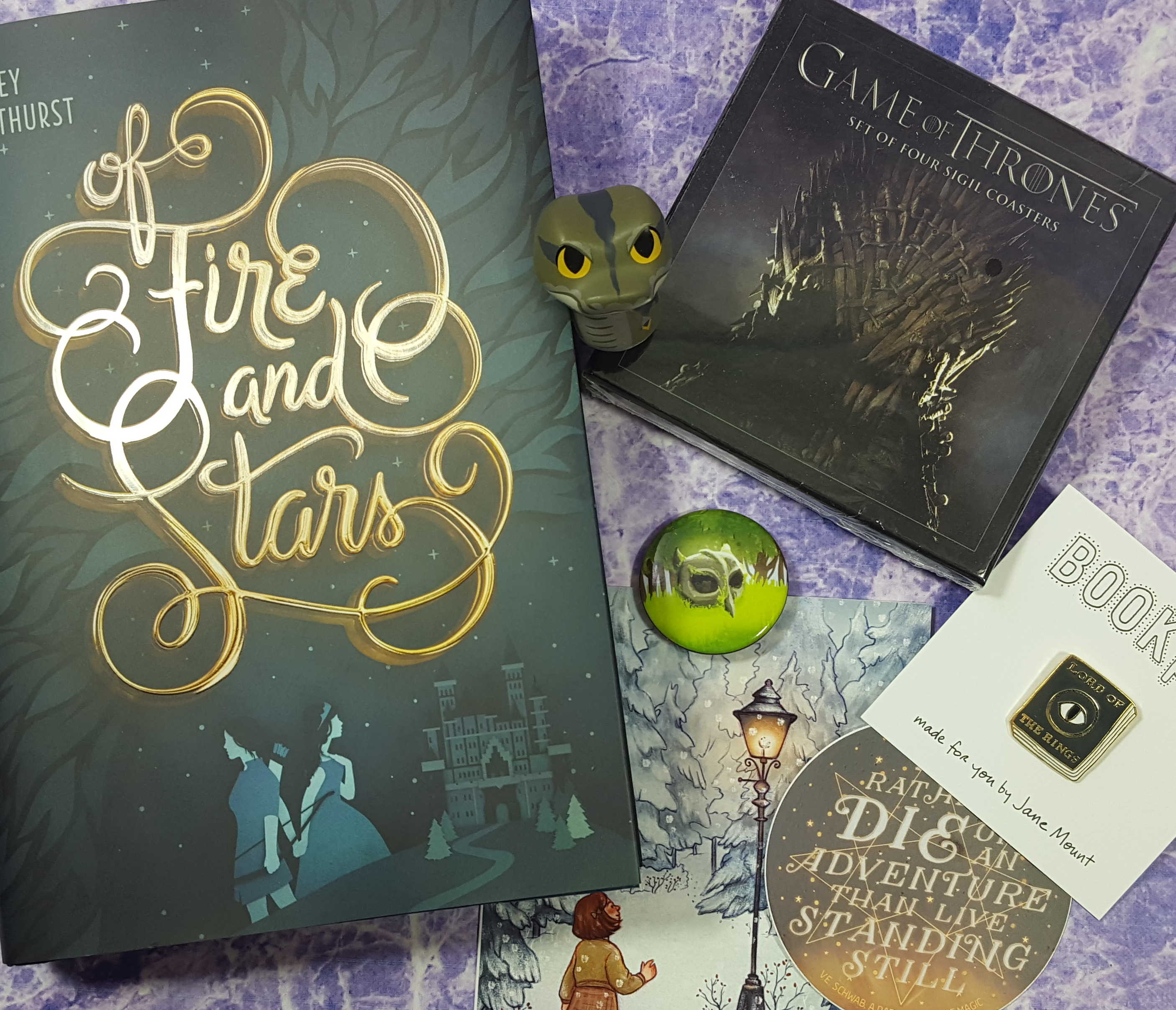 OwlCrate December 2016 Subscription Box Review + Coupon