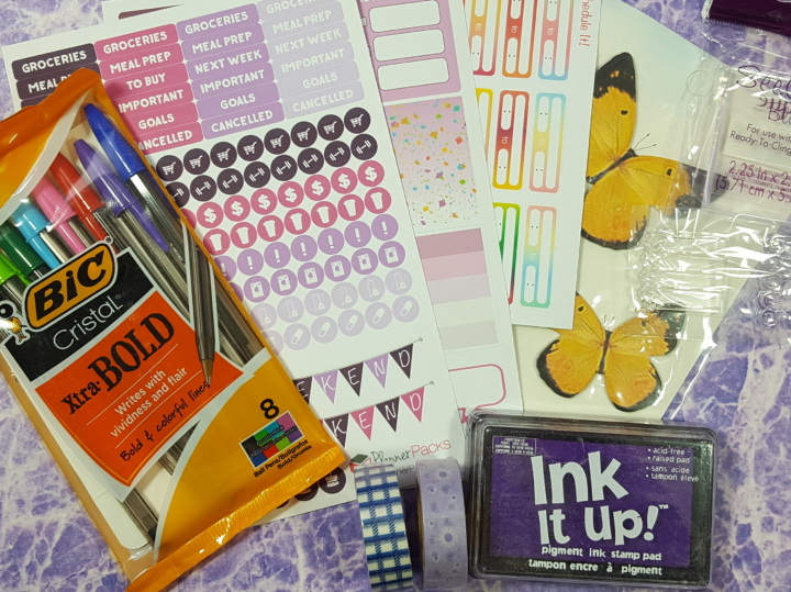 planner packs december 2016 subscription box review coupon hello