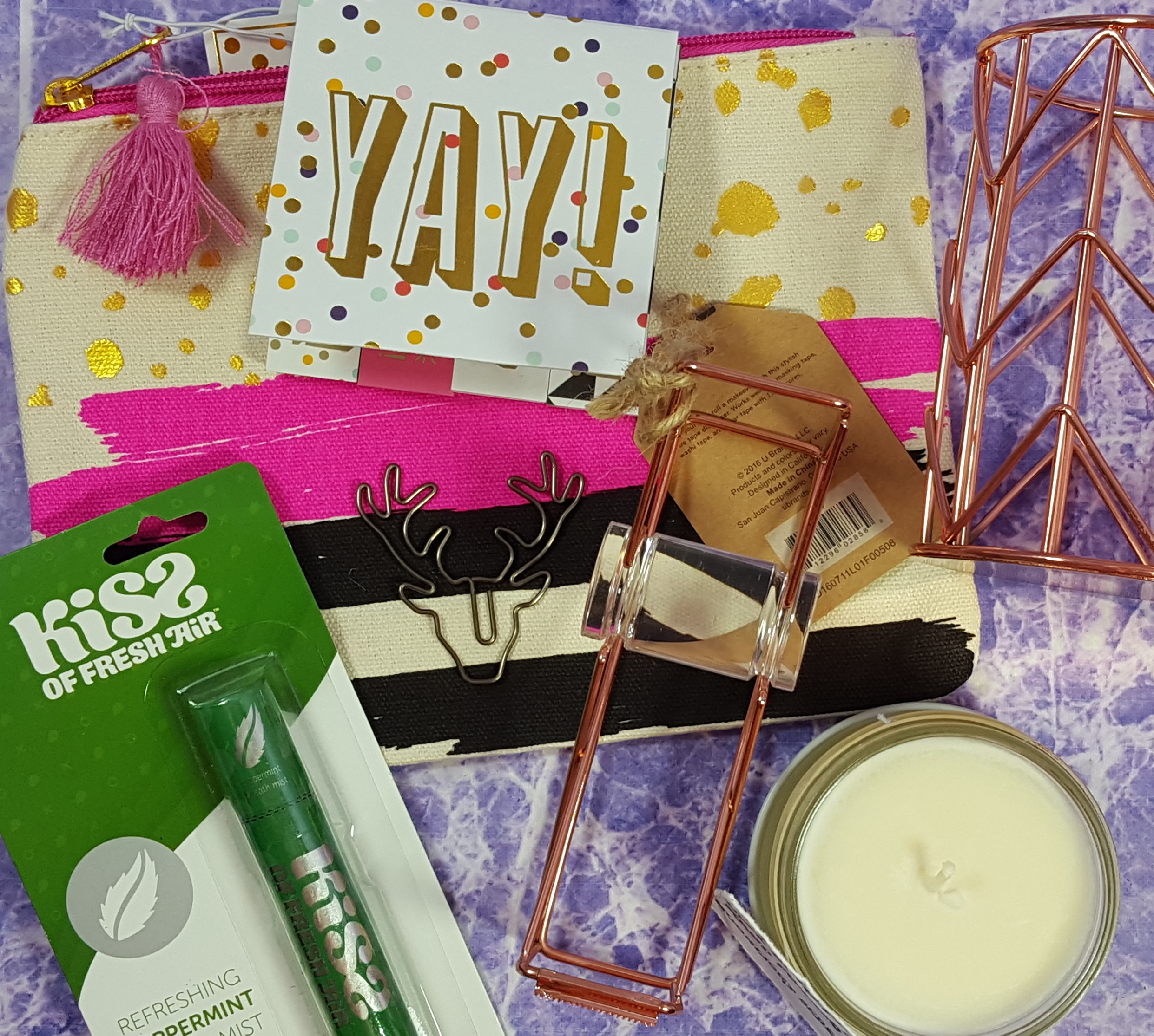 Trendy Memo Box Winter 2016 Subscription Box Review + Coupon!