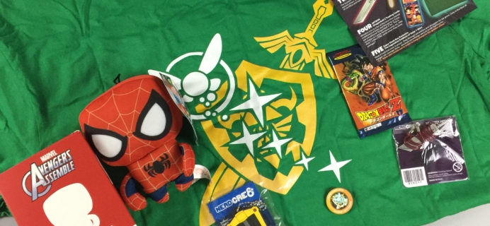 January 2017 Super Geek Box Subscription Box Review & Coupon