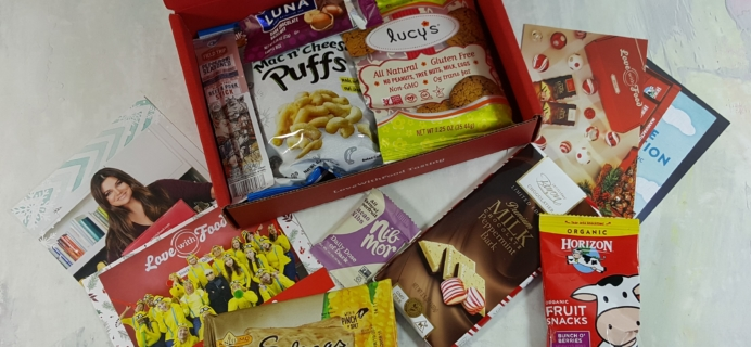 Love With Food Tasting Subscription Box Review + Coupons – December 2016