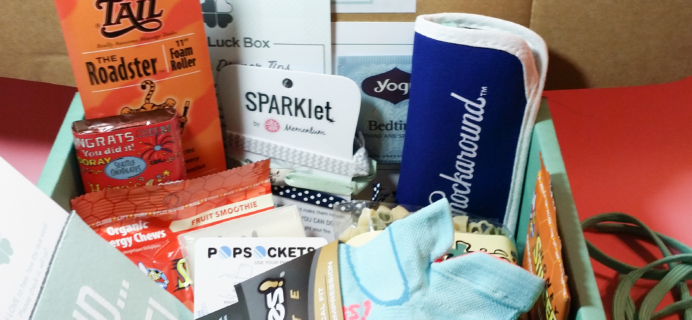 Good Luck Box Subscription Box Review – January 2017