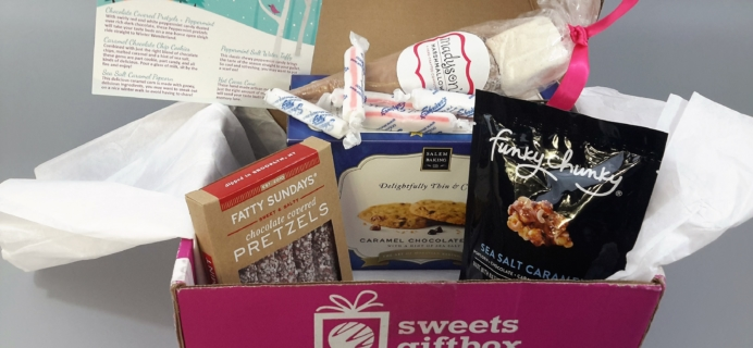 Sweets Gift Box December 2016 Subscription Box + Coupon