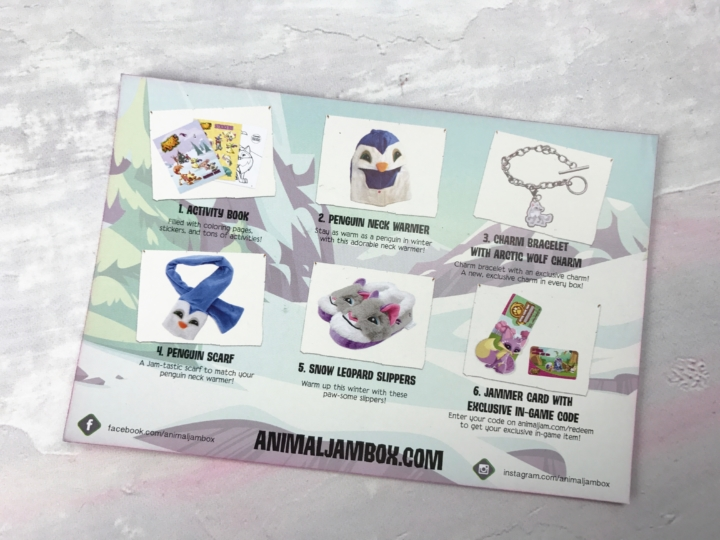 Animal Jam Box Codes