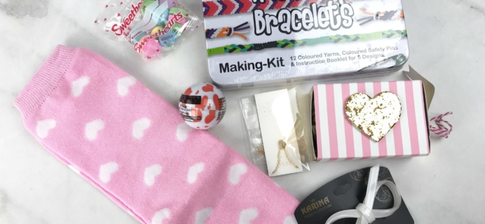 Boodle Box February 2017 Subscription Box Review