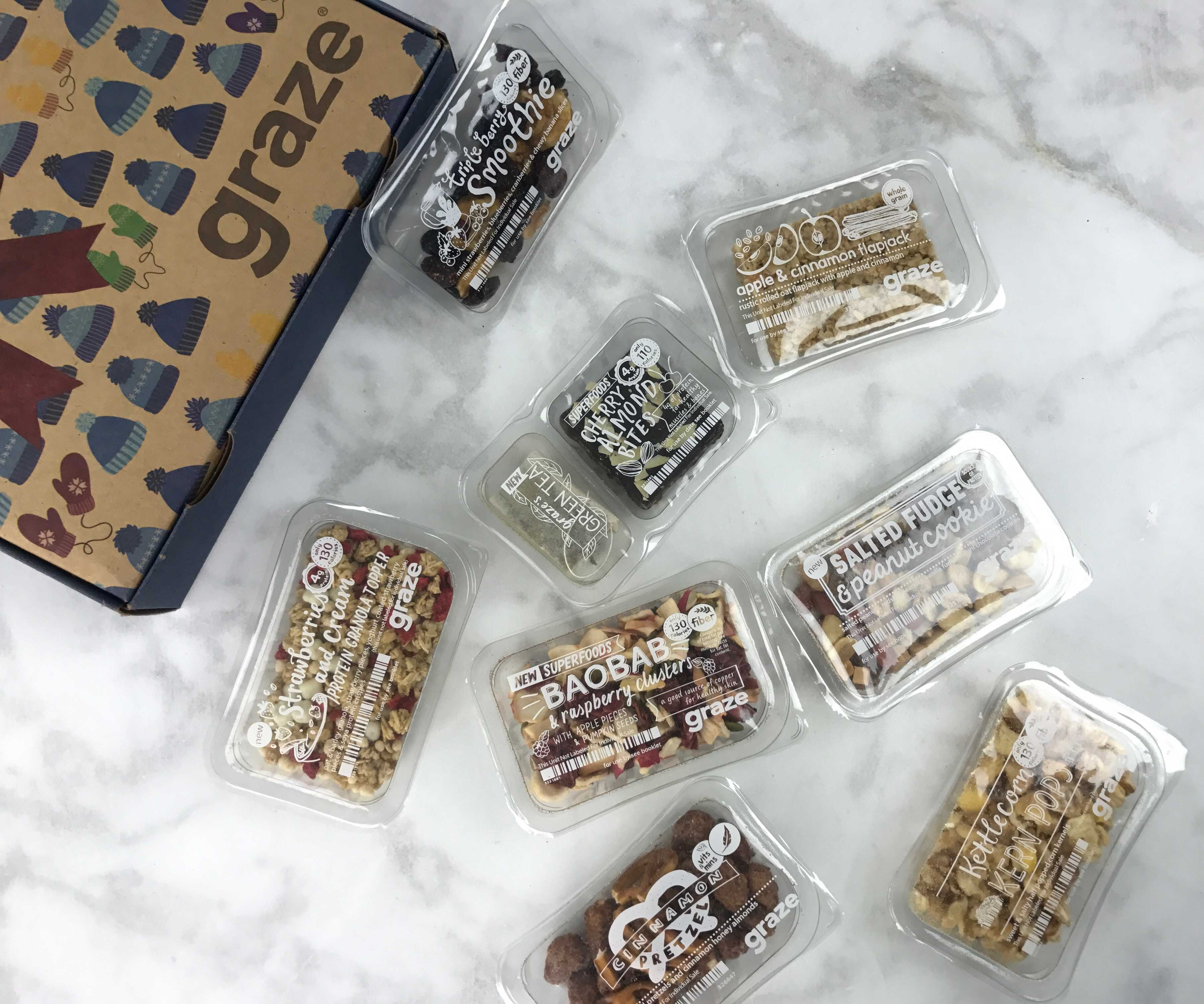 Graze Sweet Treat Box Review & Free Box Coupon